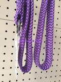 ~BEAU PETS / DOG LEAD / NYLON / SLIP / PURPLE / 20MM x 90CM~