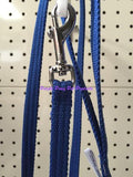 ~BEAU PETS / COTTON WEBBING / DOG LEAD / 12MM x 120CM / BLUE~