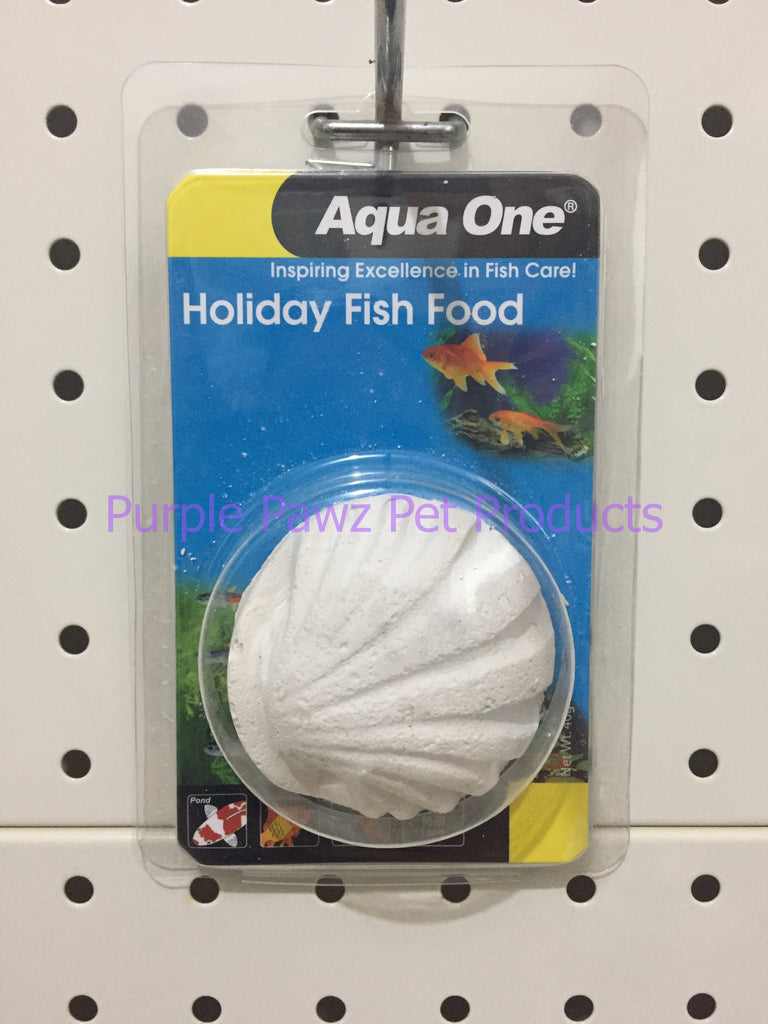 ~AQUA ONE / HOLIDAY FISH FOOD / BLOCK / 40G~