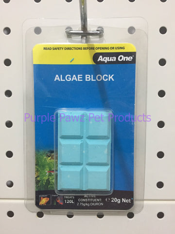 ~AQUA ONE / ALGAE / BLOCK / 20G~