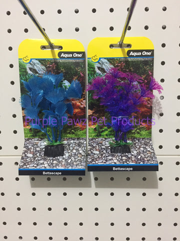 ~AQUA ONE / BETTASCAPE / BLUE & PURPLE / 2PK~