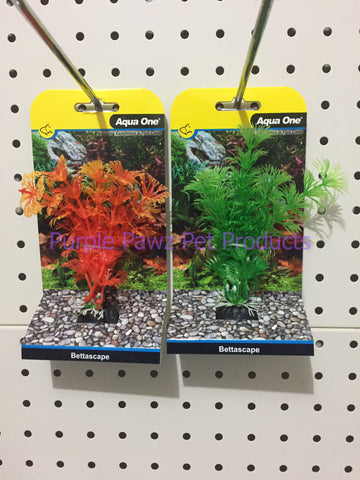 ~AQUA ONE / BETTASCAPE / ORANGE & GREEN / 2PK~