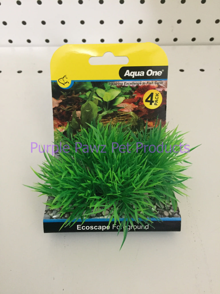 ~AQUA ONE / ECOSCAPE / FOREGROUND / GREEN / 4PK~