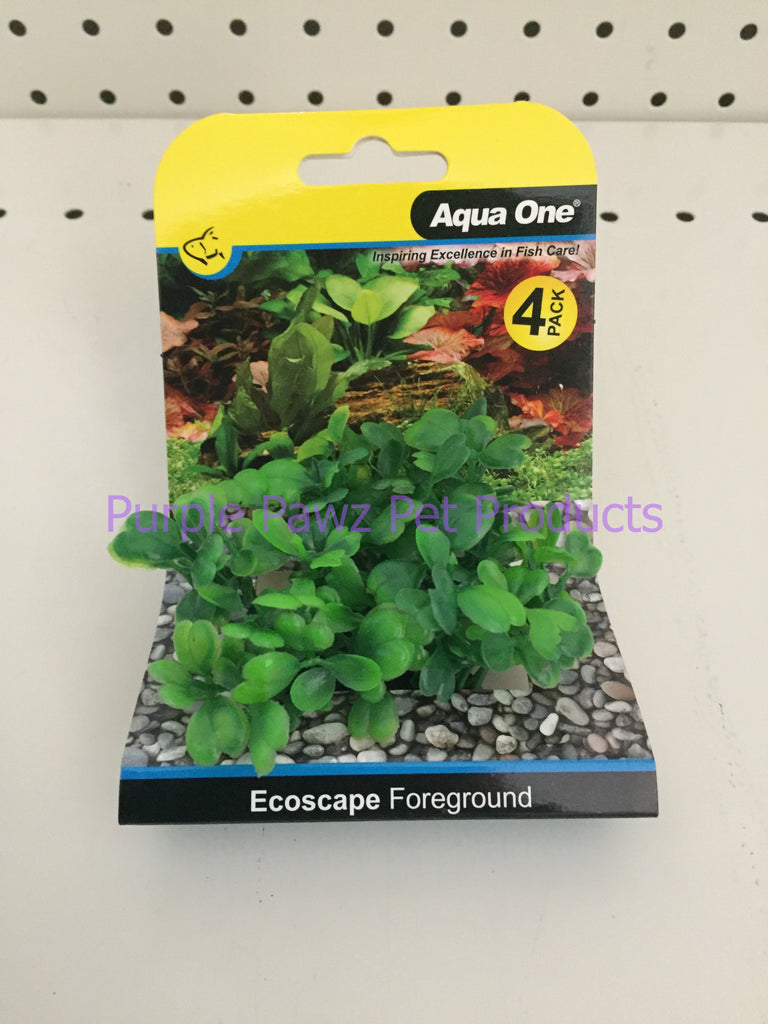 ~AQUA ONE / PLANT / ECOSCAPE / FOREGROUND / GREEN / 4PK~