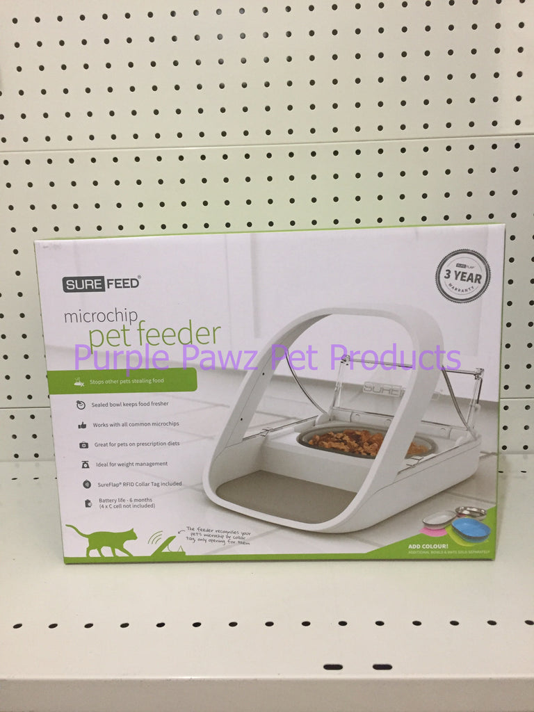 ~SURE FEED / MICROCHIP / PET FEEDER~