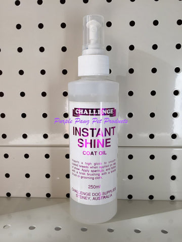 ~CHALLENGE INSTANT SHINE 250ML SHOW DOG~