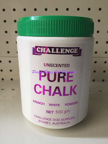 ~CHALLENGE / PURE CHALK POWDER / 500G / SHOW DOG PRODUCT~