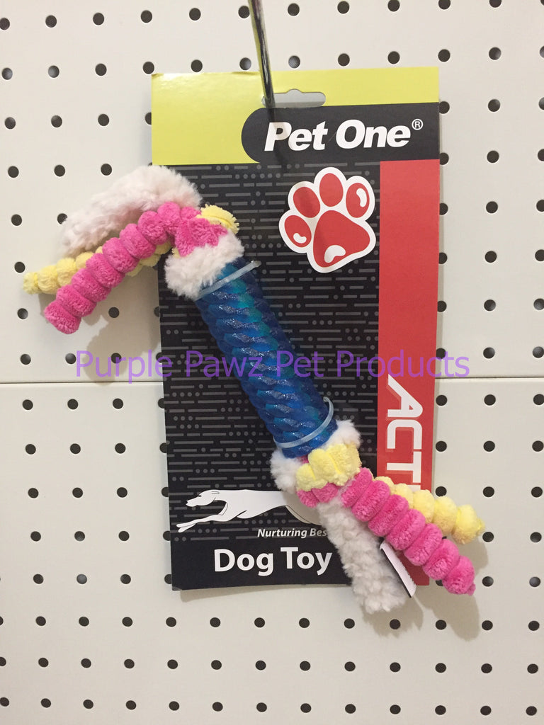 ~PET ONE / DOG TOY / ACTIV TPR STICK / BLUE~