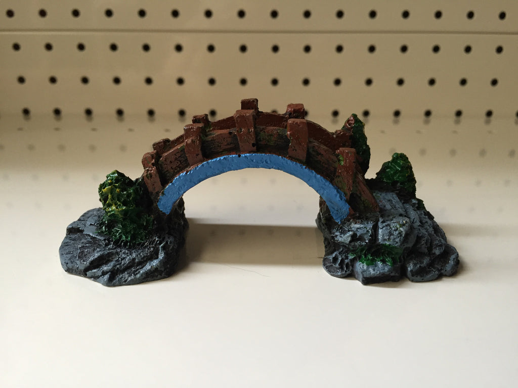 ~MINI BRIDGE AQUARIUM ORNAMENT~