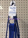 ~BEAU PETS / DOG LEAD / NYLON / SLIP / BLUE / 20MM x 120CM~