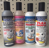 ~FIDO'S / ASSORTED / DOG SHAMPOO / 4 VARIETIES~