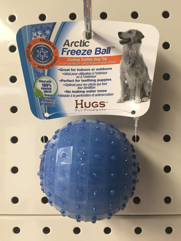 ~ARCTIC FREEZE BALL DOG TOY~