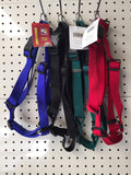 ~NYLON ADJUSTABLE DOG HARNESS LARGE 4 COLOURS~