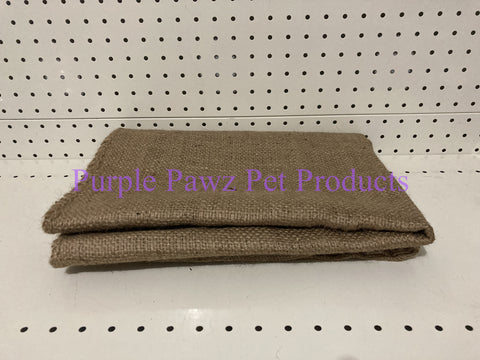 ~DOG BED COVER / HESSIAN / LARGE~