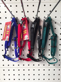 ~NYLON ADJUSTABLE DOG HARNESS EX SMALL 3 COLOURS LEFT~