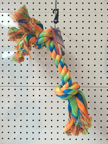 ~2 KNOT ROPE DOG TOY 43 CM~
