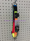"~PRESTIGE / RAINBOW / ADJUSTABLE / 3/4"" / 15-25"" / 38-64CM / DOG COLLAR / LGE~"