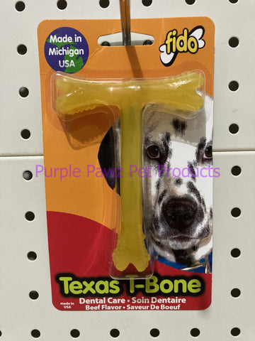 ~FIDO / TEXAS T-BONE / BEEF / SMALL~