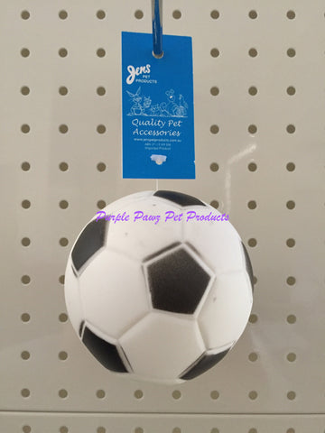 ~GROAN SOCCER TREAT BALL DOG TOY~