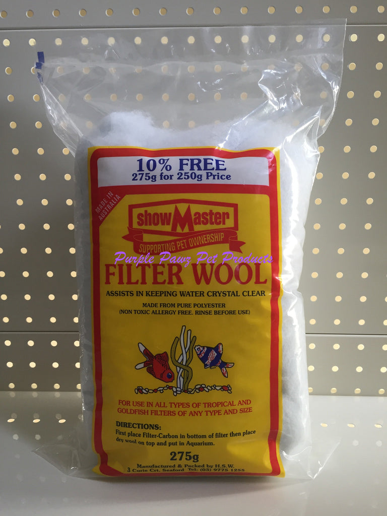 ~SHOWMASTER / FILTER WOOL / 275G~
