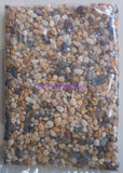 ~AQUARIUM / NATURAL COARSE / GRAVEL / 1KG BAG~