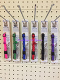 ~BEAU PETS / ELASTIC / SAFETY CAT COLLARS / 6 COLOURS~
