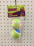 ~SCOOBY-DOO / TENNIS BALLS / DOG TOY / PACK OF 2~