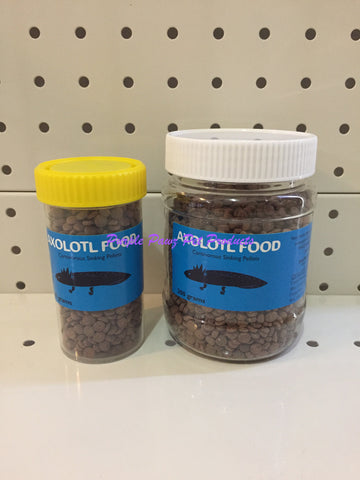 ~AXOLOTYL / SINKING PELLETS / 2 SIZES / 80G 200G~