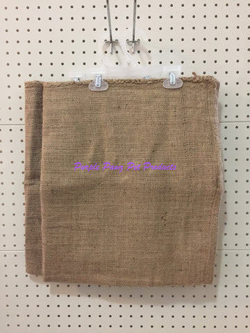 "~2 x BED COVER / HESSIAN / SMALL / 29"" x 18""~"
