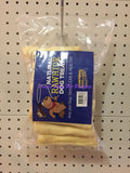 ~NATURAL RAWHIDE DOG TREATS / MEATY ROLL / 5IN / 20PK~