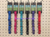 "~GUARDIAN GEAR NYLON MARTINGALE DOG COLLARS / 1 COLOUR LEFT / 14""-20""~"