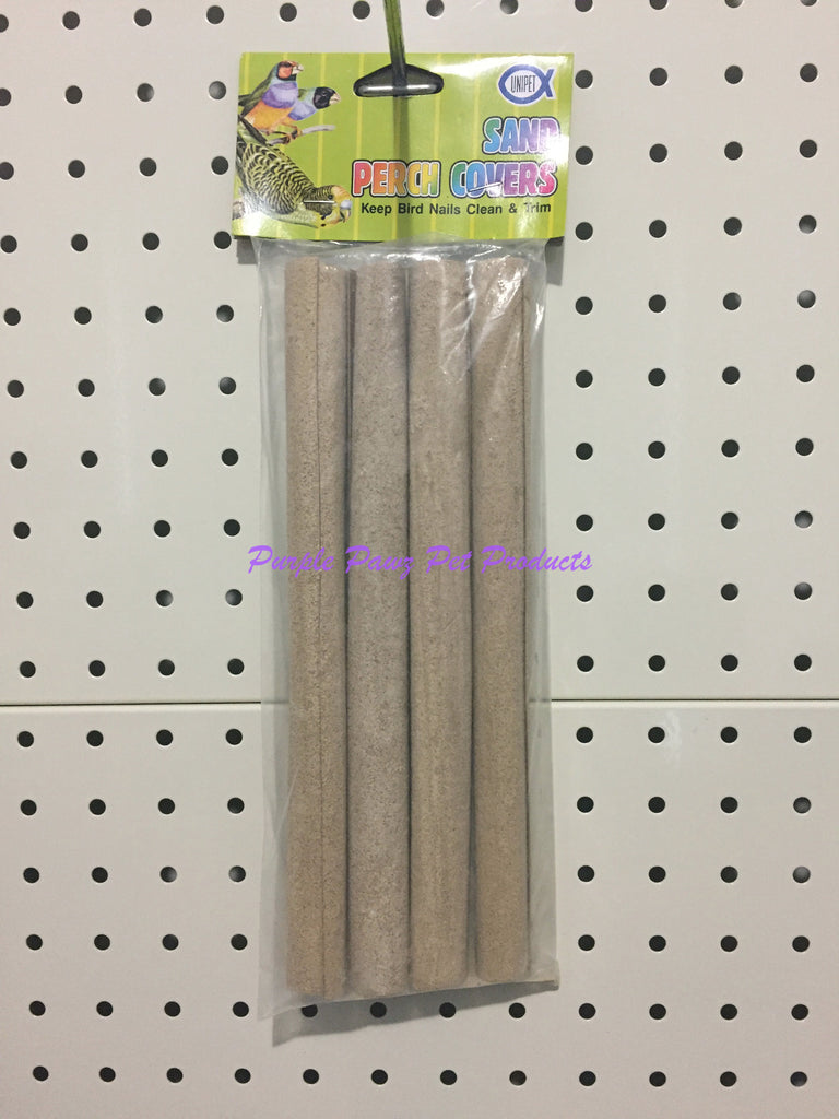 ~UNIPET / SAND PERCH COVERS / 4PK / LGE / 20MM x 240MM~