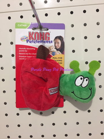 ~KONG PUZZLEMENT / APPLE/WORM / CAT TOY~