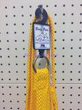 ~BEAU PETS / DOG LEAD / NYLON / SLIP / GOLD / 20MM x 150CM~