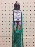 ~BEAU PETS / DOG LEAD / NYLON / SLIP / GREEN / 20MM x 120CM~