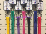 ~BEAU PETS / NYLON / SLIP DOG LEADS / 7 COLOURS / 10MM x 150CM~