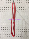 ~DOG SHOW / MARTINGALE LEAD / RED / 90CM~