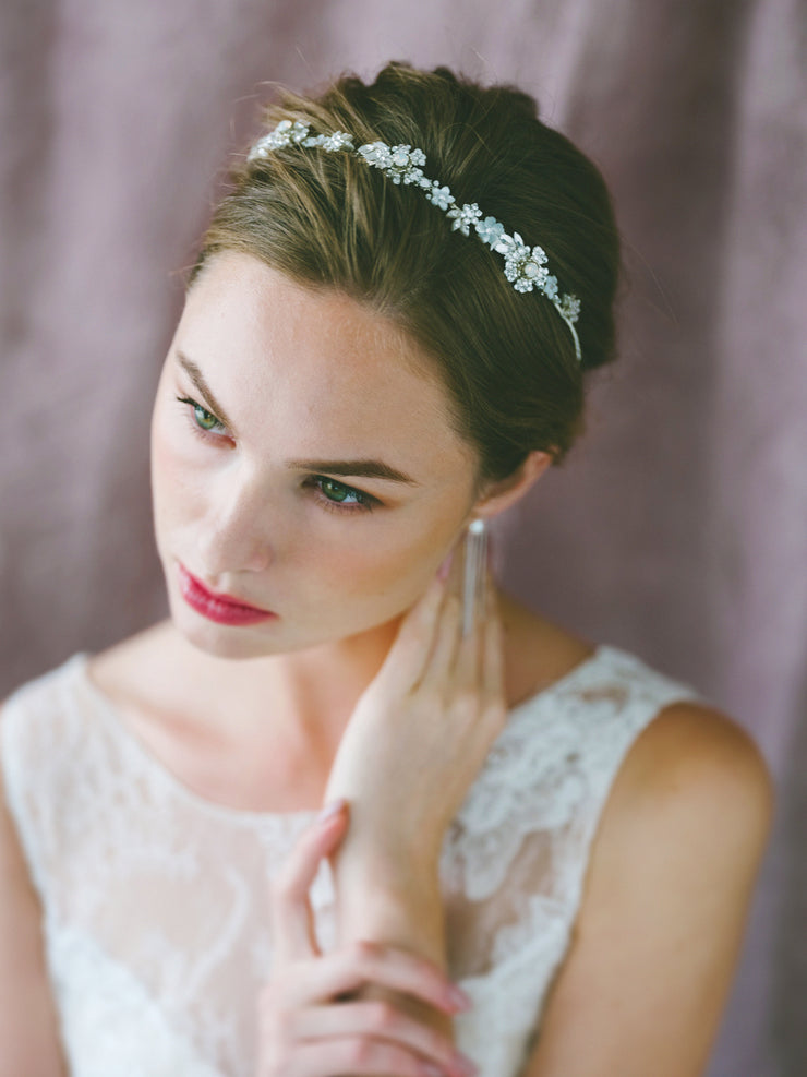 LAYLA - Delicate Sparkly Tiara