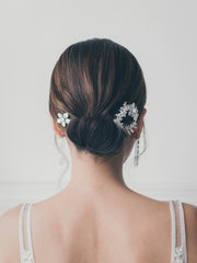 SKYLAR - Delicate Flower Hair Clips