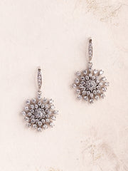 MARA - Snow Crystals Charm Earrings