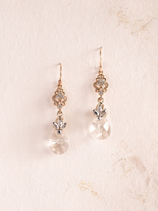 ELLSA - Crystal Pendant Earrings **Limited Edition**