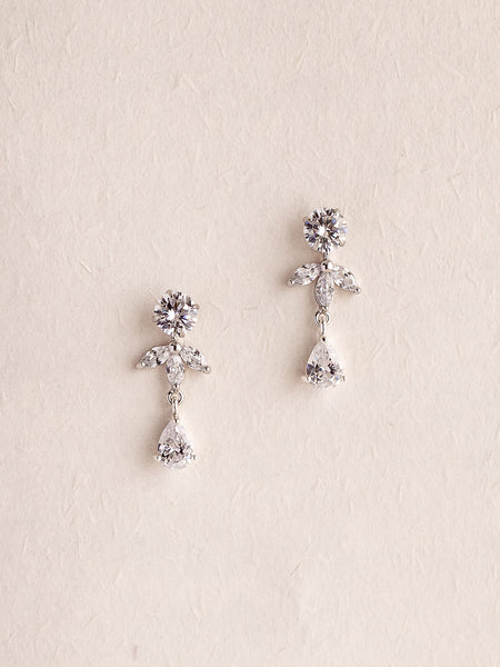 EMMA - Two-way Sparkly Crystals Earrings