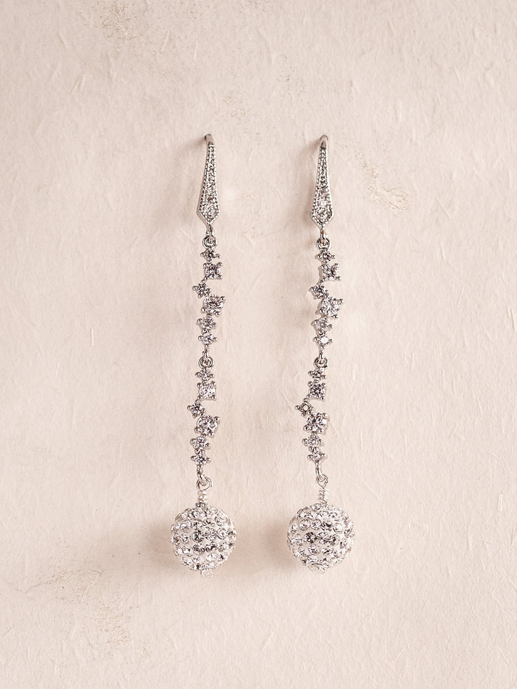 ESTHER - Crystals Drop Earrings