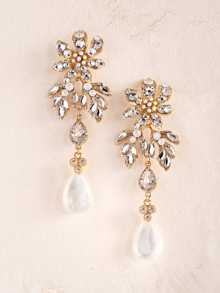 JANNA -  Enchanted Flower Earrings