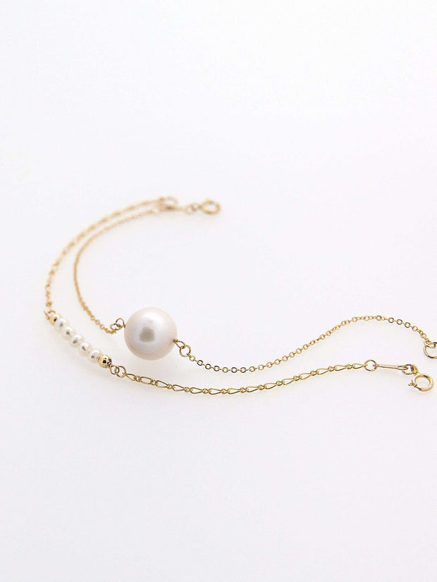 Hong Kong Wedding Bracelets | MARTHA - Mini Pearl Bracelet | Hong Kong Handmade Wedding Accessories, Bridal Headpiece and Earrings | Down The Aisle Atelier