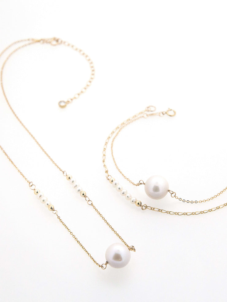 Hong Kong Wedding Bracelets | ISABEL - Precious Single Pearl Bracelet | Hong Kong Handmade Wedding Accessories, Bridal Headpiece and Earrings | Down The Aisle Atelier