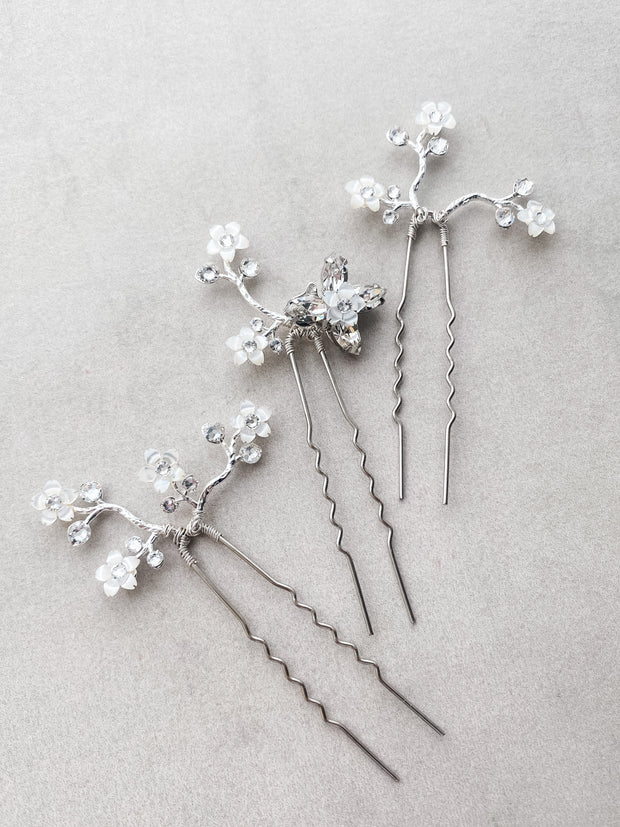 CAMILA Hairpins (Set of 3)