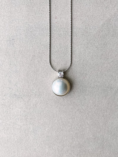 ASTRIA Mabe Pearl Necklace
