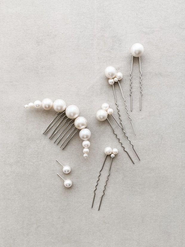 ROBYN Pearl Hairpins (Set of 4) **Limited Edition