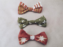 Earth Tone Bows
